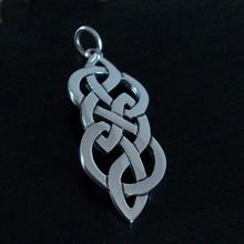 Askernish Silver Pendant