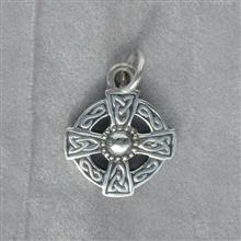 St Augustine Silver Pendant
