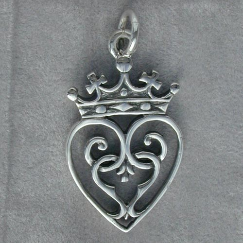 Queen mary silver pendant scottish celtic jewelry queen mary silver pendant scottish celtic jewelry aloadofball Images